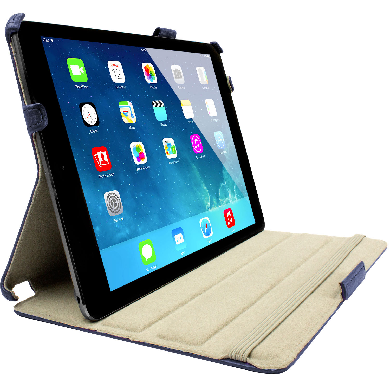 Sophisticase iPad Air Frameless Case - Blue