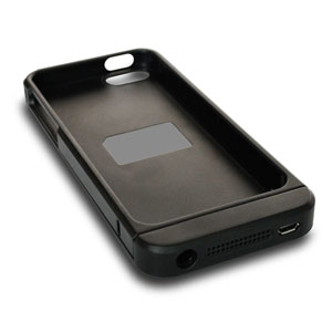 Coque de Chargement Sans Fil Qi pour iPhone 5S / 5 – Noire