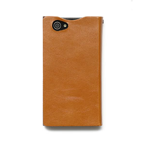 Zenus Prestige Signature Diary for Sony Xperia Z Compact - Sand Beige