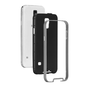 Case-Mate Slim Tough Case for Samsung Galaxy S5 - Black / Silver