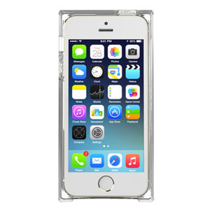 Zenus Avoc Ice Cube Case for iPhone 5S / 5 - Clear