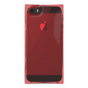 Zenus Avoc Ice Cube Case for iPhone 5S / 5 - Red