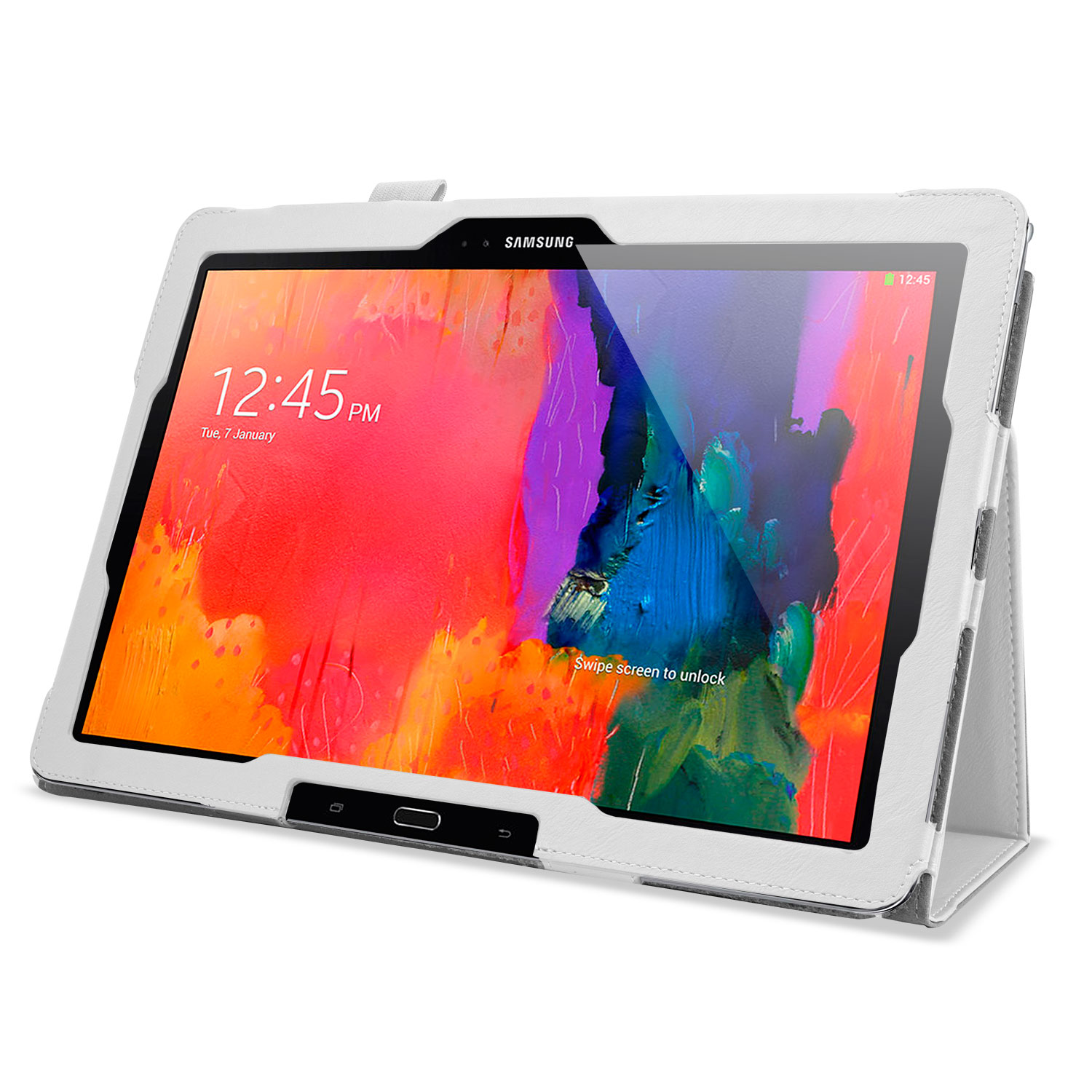 Stand and Type Case for Samsung Galaxy Note Pro & Tab Pro 12.2 - White