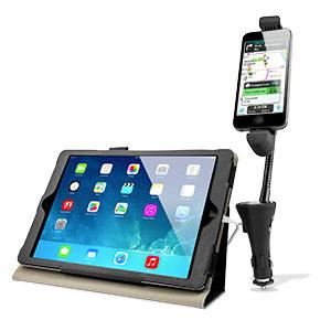 RoadWarrior Car Holder, Charger & FM Transmitter iPhone 5S / 5C / 5