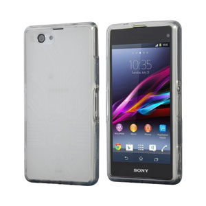 Cruzerlite Bugdroid Circuit Case for Xperia Z1 Compact - Clear