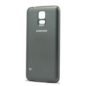 Official Samsung Galaxy S5 Wireless Charging Cover - Black
