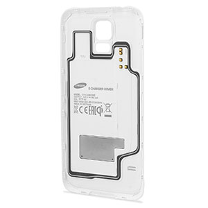 Official Samsung Galaxy S5 Wireless Charging Cover - White