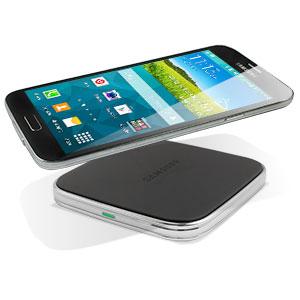 Almohadilla Carga Inalámbrica Oficial Samsung Galaxy S5 - Negra