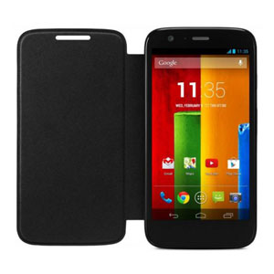 Official Motorola Moto G Flip Cover - Black