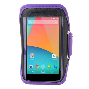 Universal Armband for Medium-Sized Smartphones - Purple