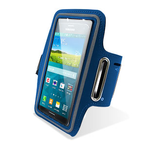 Universal Armband for Large Sized Smartphones - Blue