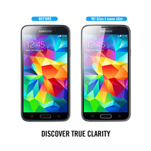 Spigen SGP Galaxy S5 GLAS.t SLIM Tempered Glass Screen Protector