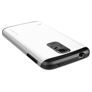 Spigen SGP Slim Armor Case for Samsung Galaxy S5 - White