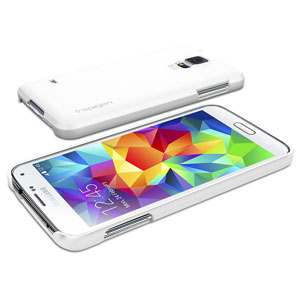 Spigen Ultra Fit Case for Samsung Galaxy S5 - White