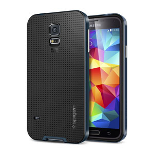 Spigen SGP Neo Hybrid Case for Samsung Galaxy S5 - Metal Slate