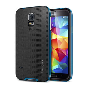 Spigen SGP Neo Hybrid Case for Samsung Galaxy S5 - Blue
