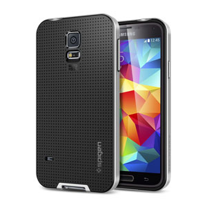Spigen SGP Neo Hybrid Case for Samsung Galaxy S5 - Silver