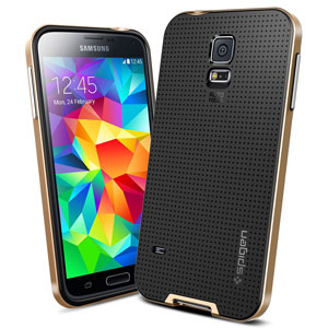 Spigen SGP Neo Hybrid Case for Samsung Galaxy S5 - Gold
