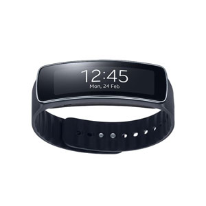 Samsung Gear Fit Smartwatch - Black