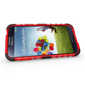 ArmourDillo Hybrid Protective Case for Samsung Galaxy S5 - Red