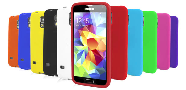 10-in-1 Silicone Case Pack for Samsung Galaxy S5