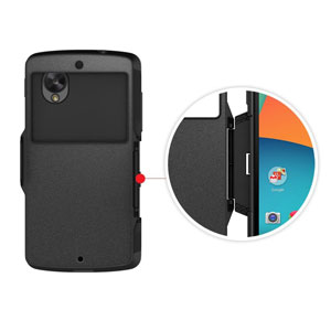 Spigen Slim Armor View Case for Google Nexus 5 - Smooth Black