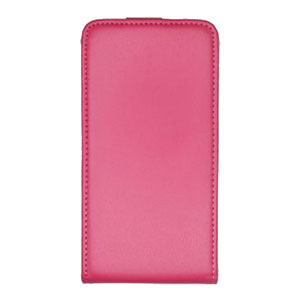 Muvit Slim Leather Style Flip Sony Xperia E1 Case - Pink