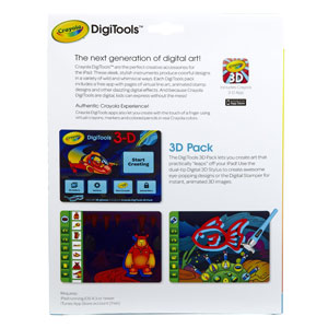 Crayola Digitools 3D Effects Pack