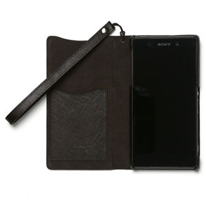 Zenus Minimal Diary for Sony Xperia Z2 - Black