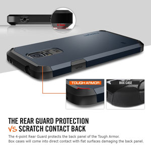 Spigen Tough Armor Case for Samsung Galaxy S5 - Gunmetal