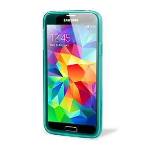 Flexishield Case for Samsung Galaxy S5 - Light Blue