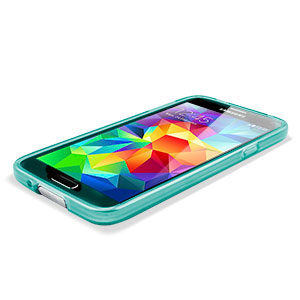 Flexishield Case for Samsung Galaxy S5 - Light Blue