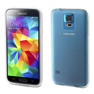 Muvit miniGEL Case for Samsung Galaxy S5 - Transparent