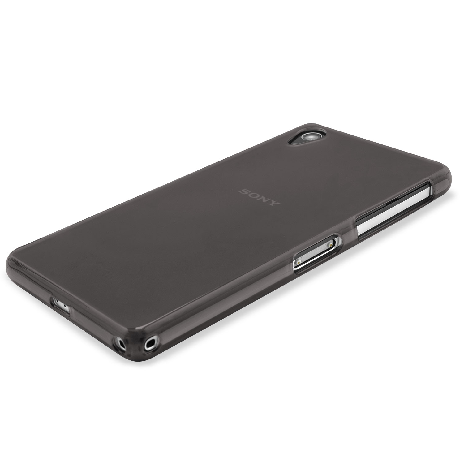 FlexiShield Skin for Sony Xperia Z2 - Smoke Black