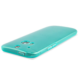 FlexiShield Skin for HTC One M8 - Light Blue
