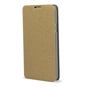 samsung galaxy s5 gold case. pudini samsung galaxy s5 flip and stand case - gold