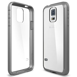 Spigen Ultra Hybrid Case for Samsung Galaxy S5 - Grey