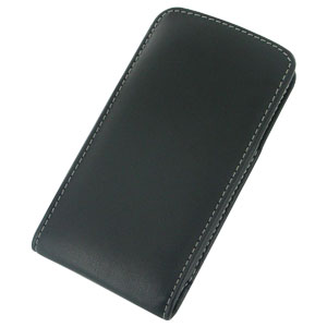 PDair Vertical Leather Pouch Case with Belt Clip for Xperia Z1 Compact