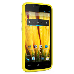 bq Back Cover Case for Aquaris 5HD - Yellow