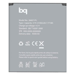 bq Aquaris 5 HD Li-ion 2100mah Battery