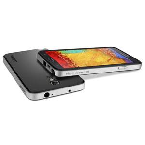 Spigen SGP Neo Hybrid Samsung Galaxy Note 3 Neo Case - Silver