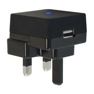Muvit UL USB Mains Charger Adapter