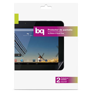 Official bq Edison 2 Screen Protector - Twin Pack