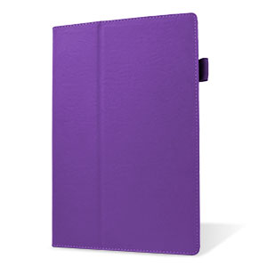 Smart Stand and Type Sony Xperia Tablet Z2 Case - Purple