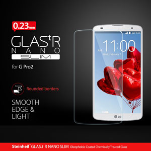 Spigen LG G Pro 2 GLAS.t NANO SLIM Tempered Glass Screen Protector