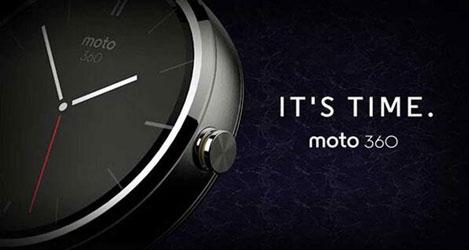 SmartWatch Moto 360 Motorola - Metallo - Argento / Bianco