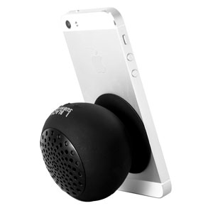 Black Submaine Bluetooth Portable Suction Speaker Stand - Black