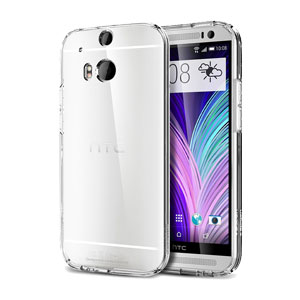 Funda HTC One M8 Spigen Ultra Fit Capsule Transparente