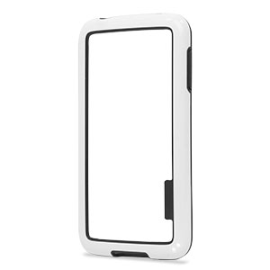 Flexiframe Samsung Galaxy S5 Bumper Case - White