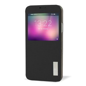 ROCK Elegant Samsung Galaxy S5 Smart View Flip Case - Black
